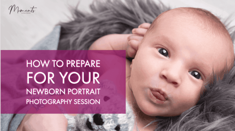 How to prepare for a newborn baby photoshoot