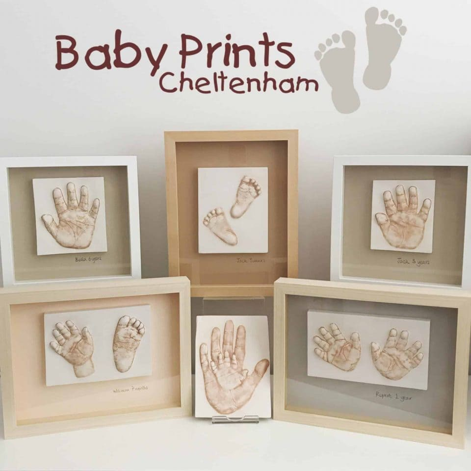 An exciting partnership with Baby Prints Cheltenham