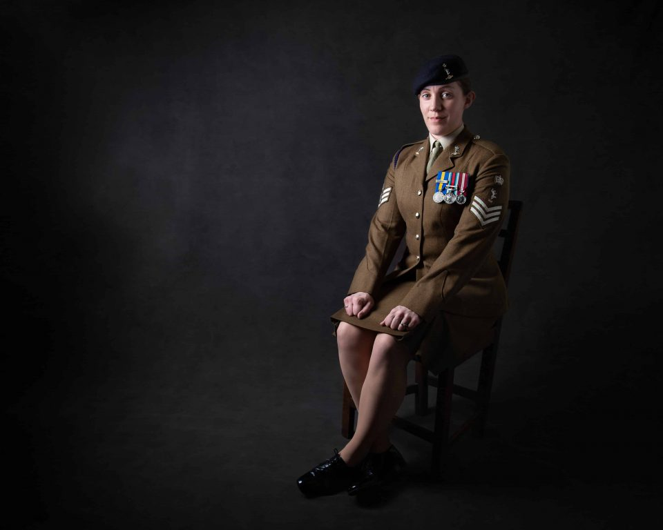 Military Portrait Photography Innsworth Gloucester
