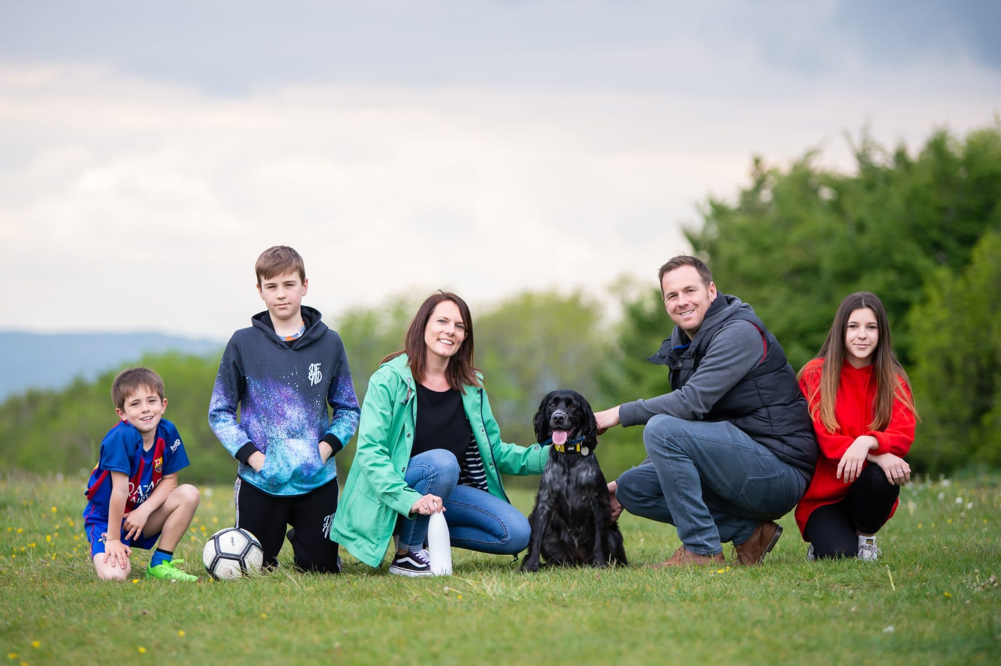 Outdoor family photoshoots in Gloucester