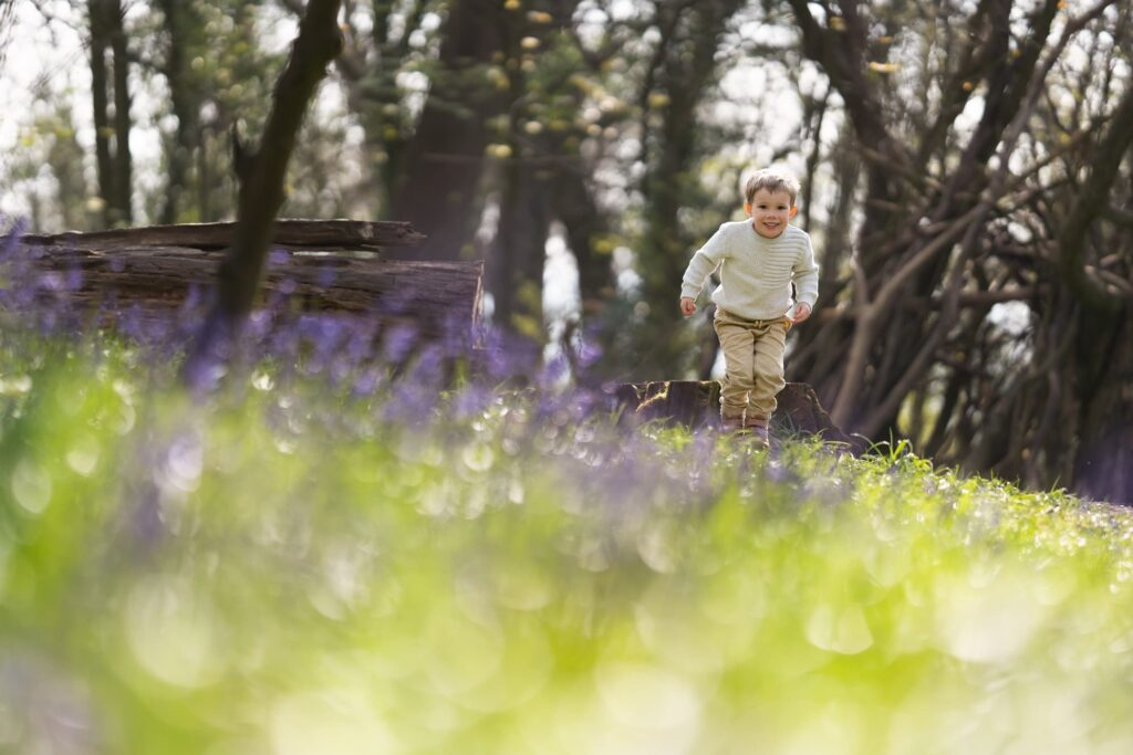 Bluebell Photoshoot Gloucester - Moments by Katie Mitchell Photography