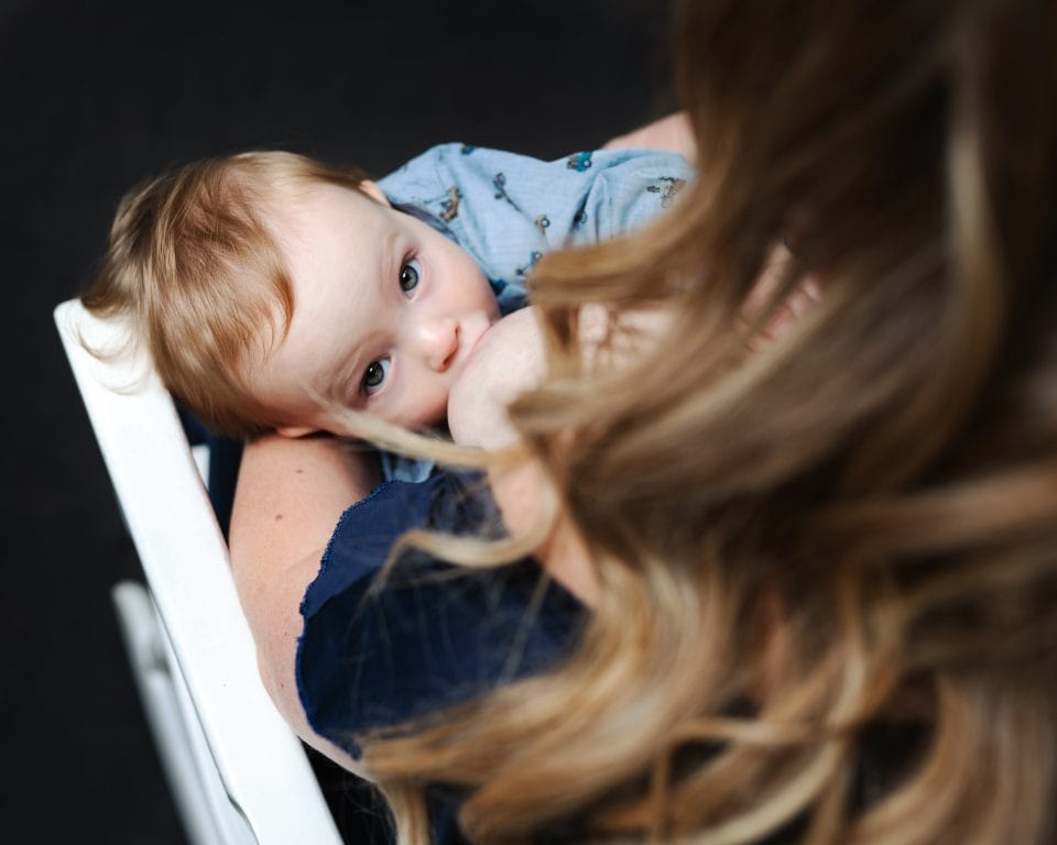 Breastfeeding Photoshoot Gloucestershire