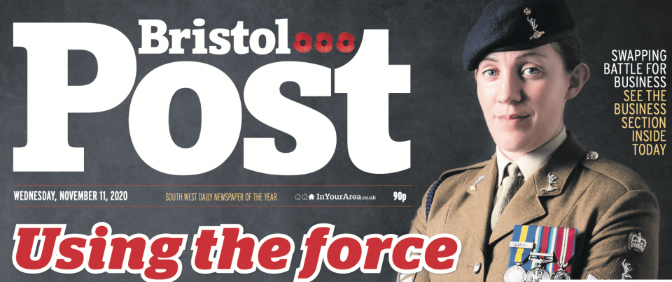 Bristol Post - Moments by Katie Mitchell