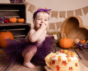Cake Smash Photoshoot Gloucester - Moments by Katie Mitchell