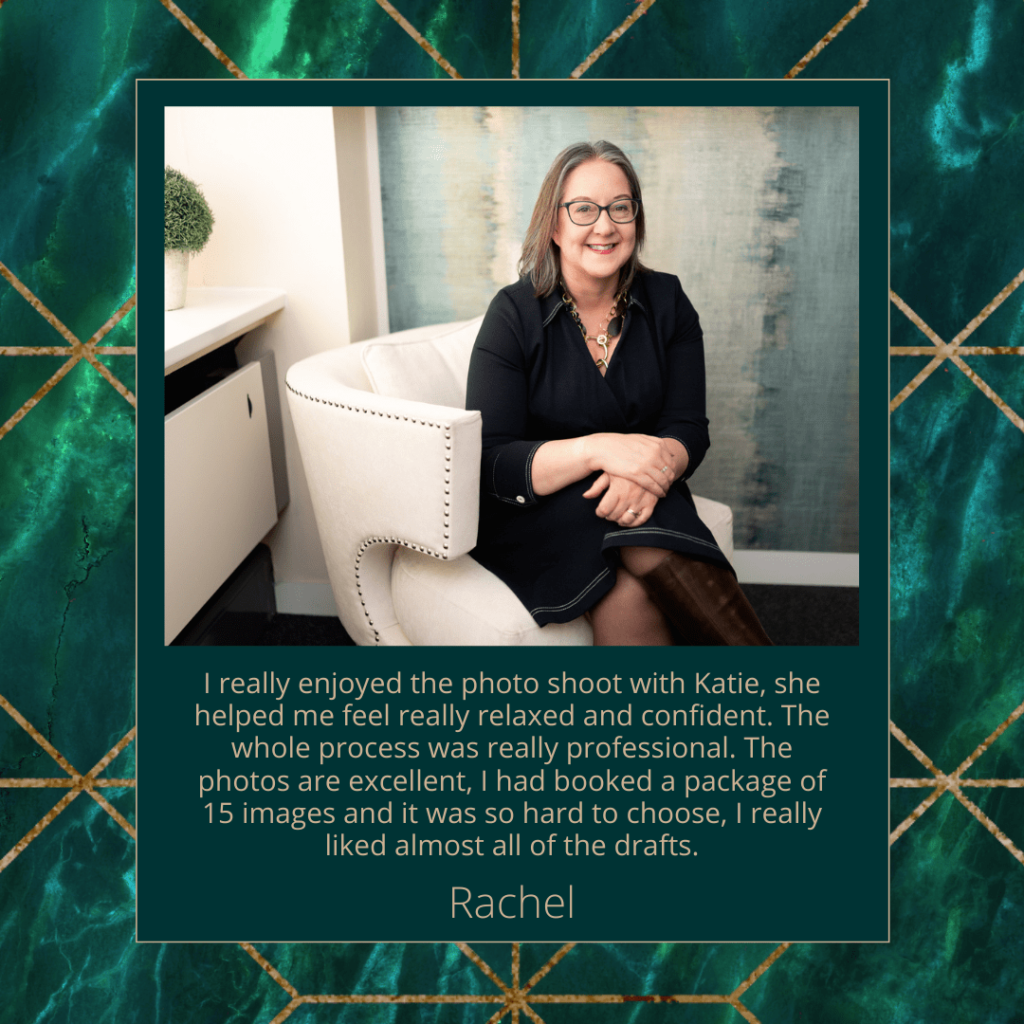 Testimonial Graphic - Moments by Katie Mitchell